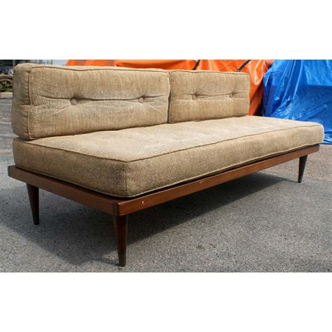 day bed sofas 1 mid century modern day bed sofa ebay