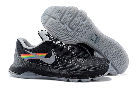 new shoes 2015 2015 new kd 8 shoes side of the moon black grey
