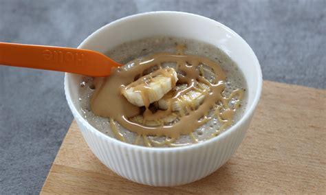 wann abendbrei babybrei mit banane und erdnussmus rezept f 252 r abendbrei