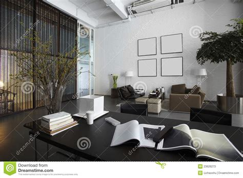 modern office space stock  image