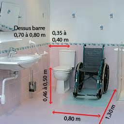 les zones de transfert dans une salle de bains pmr