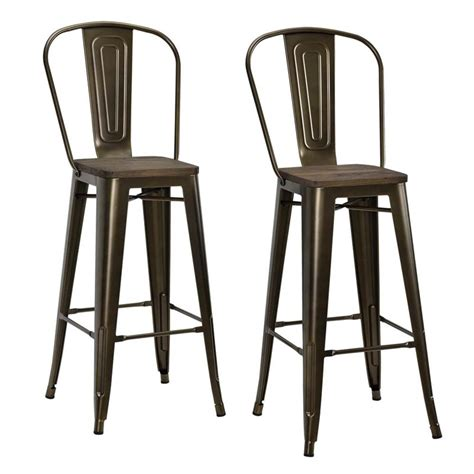 old metal bar stools 30 quot metal bar stool in antique bronze set of 2 s005107
