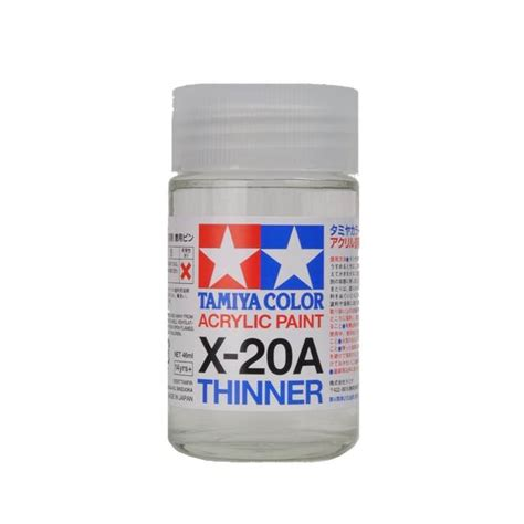 Tamiya Acrylic Thinner 46ml ท นเนอร ส ตรน ำ tamiya x 20a acrylic thinner 46ml