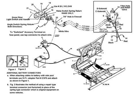 wiring diagram for western snow plow intake heater wiring diagram questiondodge dieseldiesel