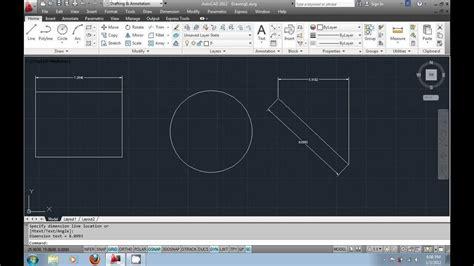 autocad tutorial video in urdu autocad tutorial in urdu part8 adding dimensions to your