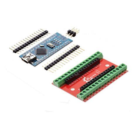 Arduino Nano Io Expansion Shield Board nano io shield expansion board atmega328p nano v3