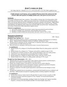 Sle Resume For Pharmaceutical Sales by Pharmaceutical Sales Resume Exles Bestsellerbookdb