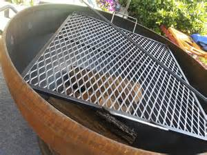 Firepit Grate Pit Cooking Grates Large Fireplace Design Ideas