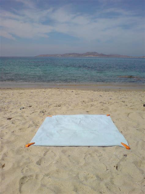 on the beach beach towel clip orange brand