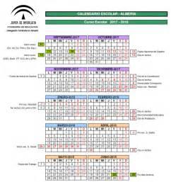 Calendario 2018 Granada Calendario Escolar