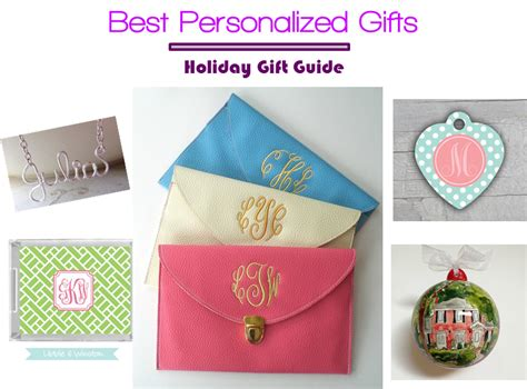 best personalized gifts 5 favorite personalized gifts for holidays midtown girl
