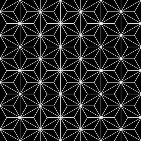 japanese modern pattern japanese pattern black stars fabric vannina spoonflower