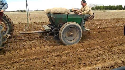 potato 2 row planter ii farmall oliver iron age