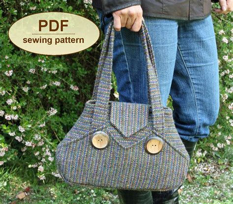 sewing pattern exchange sewing pattern to make the exchange bag pdf pattern instant