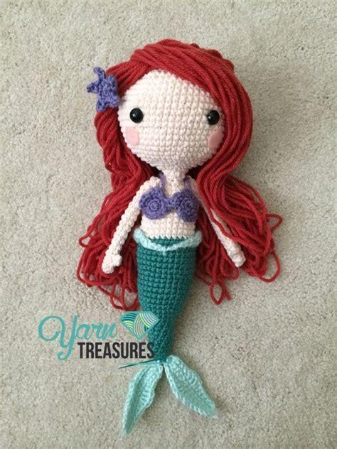 pattern for yarn doll amigurumi ariel doll hair tutorial here http www