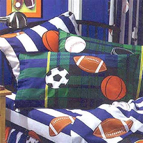 sports bedding full play sports full size sheets set