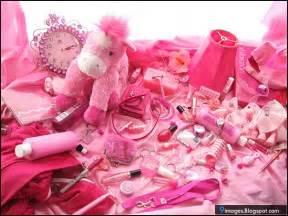 pink girly stuff cosmetic