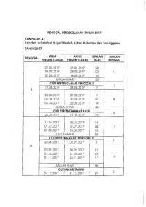 Calendar 2018 Cuti Sekolah Malaysia School 2017 Calendar Kalendar Cuti