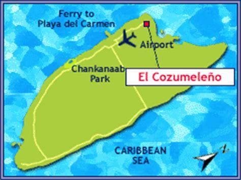 el cozumeleno resort map el cozumeleno resort travel yucatan