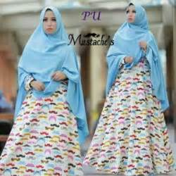 Tas Wanita B055 gamis modern kumis syar i b055 baju muslim terbaru trend