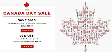 Hudson S Bay Canada Offers - hudson s bay canada canada day flash sale today save 65