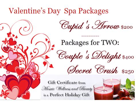 valentines day spa packages s day spa packages best gift for you