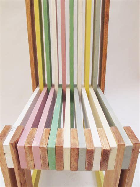 sillas de palets sillas de dise 241 o hechas con palets muy trabajadas i