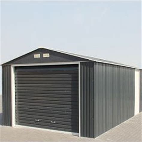 12 X 20 Garage by 12 X 20 Deluxe Anthracite Metal Garage