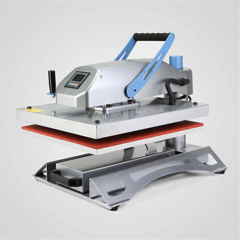swing arm heat press 40x50cm swing arm air fusion heat press machine