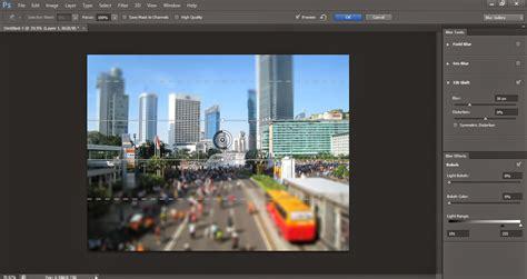 cara membuat watermark di photoshop cs6 photoshop indonesia cara membuat efek tilt shift