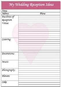 Backyard Wedding Reception Checklist Printable Wedding Checklist