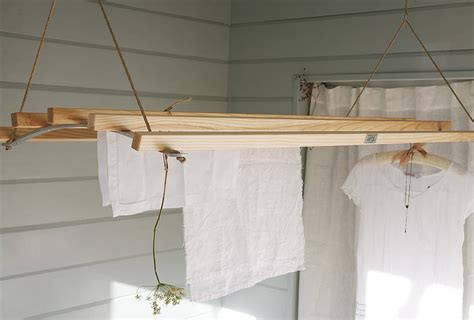 Wooden Laundry Rack by 10 Easy Pieces Wooden Laundry Racks Remodelista