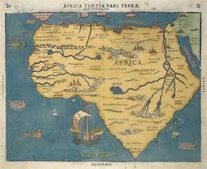 Old Map Of Africa by Old Map Of Africa Images
