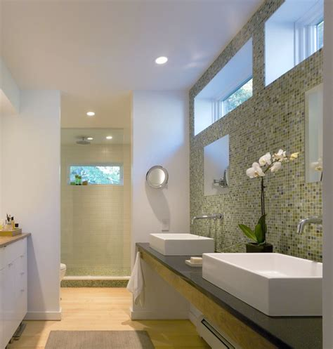 Modern Bathrooms Houzz Modern Vermont Farmhouse Modern Bathroom By Truexcullins Architecture Interior Design