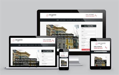 we buy houses website templates best real estate investor website templates