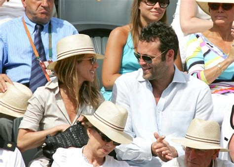 Vince Vaughn At Anistons Birthday by Aniston In Aniston And Vince Vaughn At