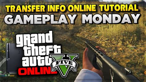 tutorial gta online ps4 gta 5 ps4 gameplay tomorow next gen online character