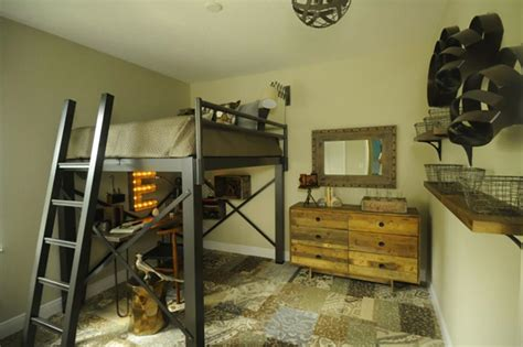 lit mezzanine pour une chambre d ado originale design feria