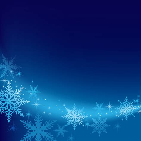 Brilliant Snowflakes Winter Vector Backgrounds 01 Free Snowflake Powerpoint Template