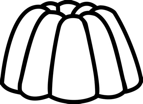 Jelly Template clipart jelly line