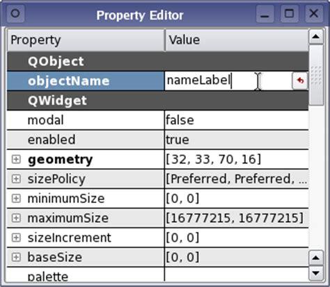 qt layout properties qt 4 1 the new qt designer