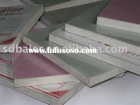 Glass Mat Gypsum Board by Glass Mat Water Resistant Gypsum Tile Backing Board Glass