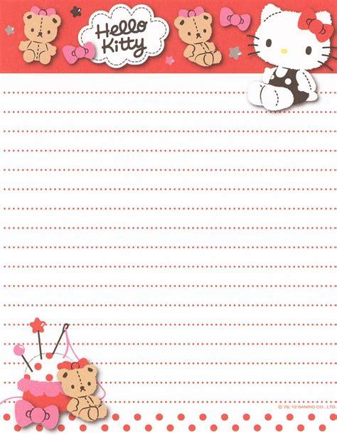 printable hello kitty letters https flic kr p e3rfyr sanrio hello kitty letter set
