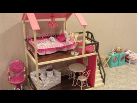 our generation doll house adding furniture