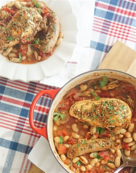 healthy fats chicken healthy chicken cassoulet low high fibre high protein