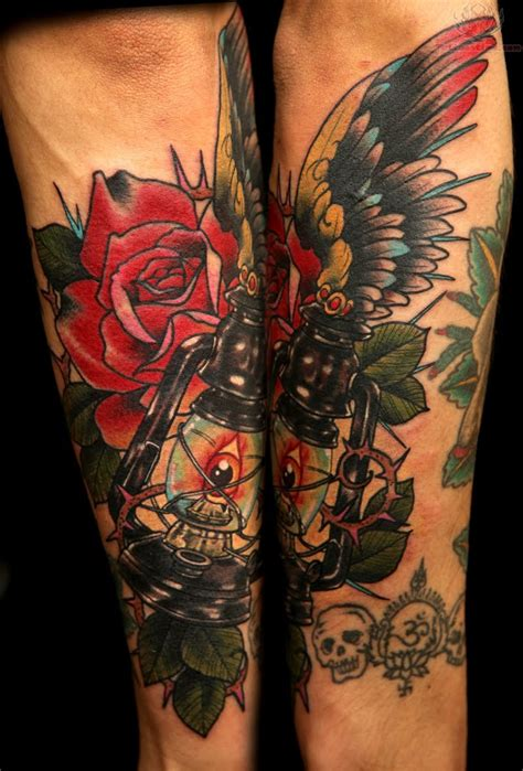 rose sleeve tattoos the arts