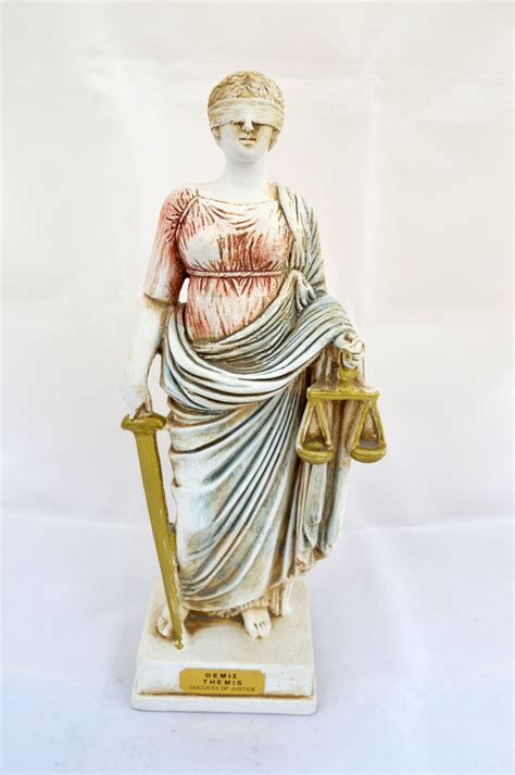themes goddess of justice themis goddess of justice ancient greek sculpture statue
