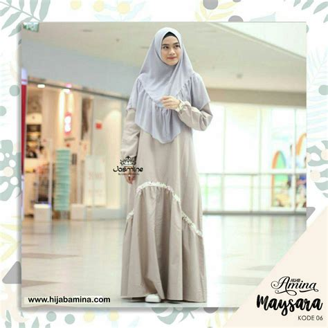 Dress Maysara Gold by Maysara 06 Dress Amina Hijabamina