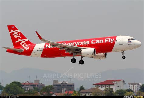 airasia thailand hs bbg airasia thailand airbus a320 at chiang mai