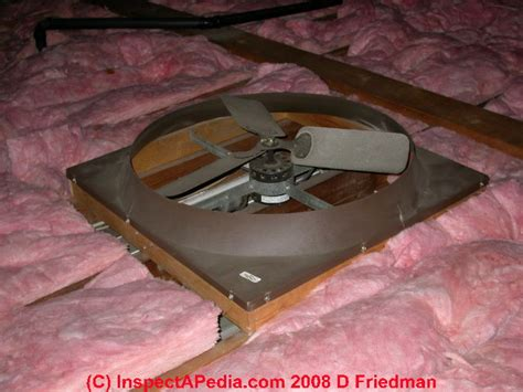 Attic Ceiling Fan auto forward to correct web page at inspectapedia